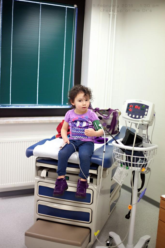 check up at Drs